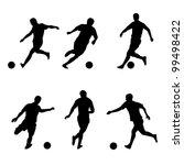 soccer  football players... | Shutterstock .eps vector #99498422