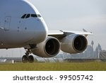 Airbus A380 Airliner Taxiing O...