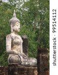 ancient buddha in sukhothai... | Shutterstock . vector #99514112