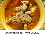 Fish Soup Flavored With...