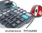 calculator and computer mouse | Shutterstock . vector #99536888