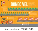 factory template info graphics... | Shutterstock .eps vector #99541838