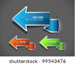 vector illustration of label or ... | Shutterstock .eps vector #99543476