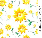 daisy tile | Shutterstock . vector #995727
