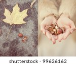 wedding collage  ring in the... | Shutterstock . vector #99626162