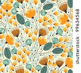Elegant Seamless Pattern With...