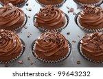 Chocolate Cupcakes With Swirl...