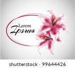 Floral Illustration Lily ...