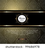 vintage background | Shutterstock .eps vector #99686978
