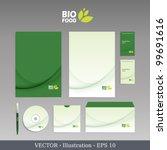 template for business artworks. ... | Shutterstock .eps vector #99691616