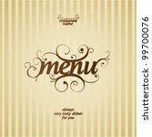 Restaurant Menu Card Design...