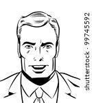 pop art illustration of a...   Shutterstock . vector #99745592