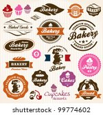 bakery bread pastry badges and... | Shutterstock .eps vector #99774602