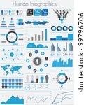 human infographic vector... | Shutterstock .eps vector #99796706
