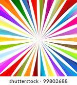 colorful burst background vector