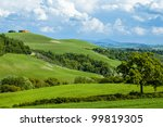 Rural Countryside Landscape In...
