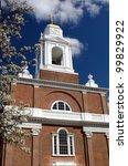 St. Stephen's Church in Boston, Massachusetts - stock photo