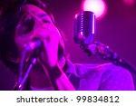 seattle   april 8   lead singer ... | Shutterstock . vector #99834812