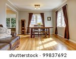 dining room with brown curtain... | Shutterstock . vector #99837692