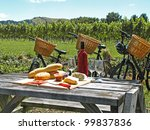 Bikes In Vineyard  New Zealand