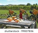 Bikes In Vineyard  New Zealand