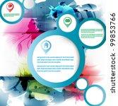 eps10 abstract vector... | Shutterstock .eps vector #99853766