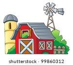 farm theme image 1   vector... | Shutterstock .eps vector #99860312