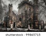 Spooky Transilvania Castle