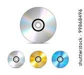 Compact Disc. Vector...
