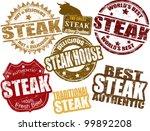 set of grunge rubber stamps ... | Shutterstock .eps vector #99892208
