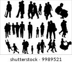 people | Shutterstock .eps vector #9989521