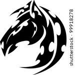 graphic tribal tattoo...   Shutterstock .eps vector #99918278