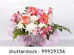 floral arrangement | Shutterstock . vector #99929156
