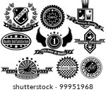 set of vintage label collection ... | Shutterstock . vector #99951968
