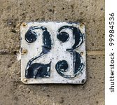 House Number 23