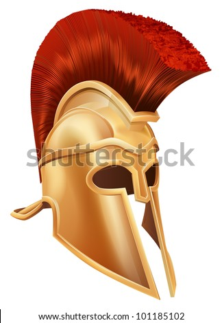 Spartan helmet roman helmet or greek helmet corinthian style