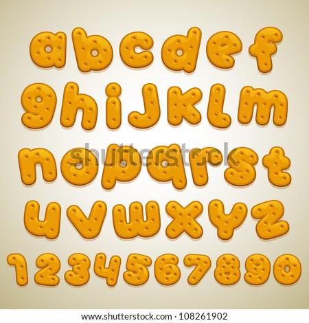 cookies font
