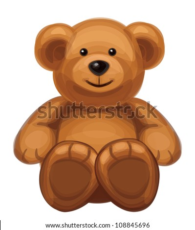 vector of cute bear