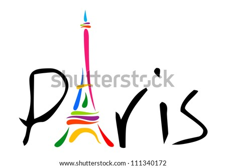 paris theme print