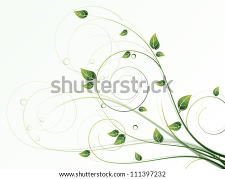 vector autumn spring background