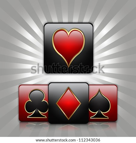 Clip Art of Card Suits