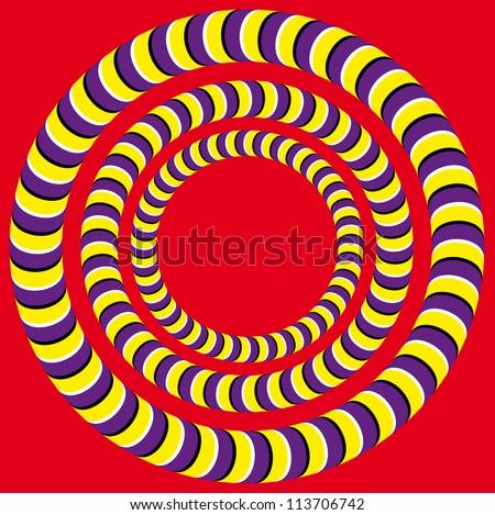 rotation  optical illusion