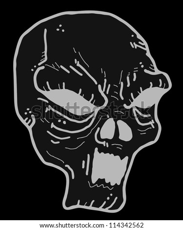 dark mask halloween
