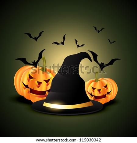 vector halloween pumpkins