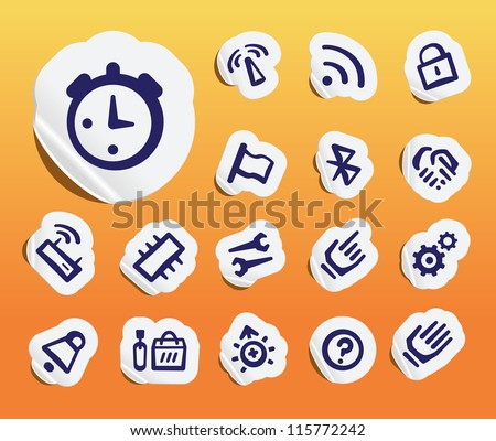 computer related icons