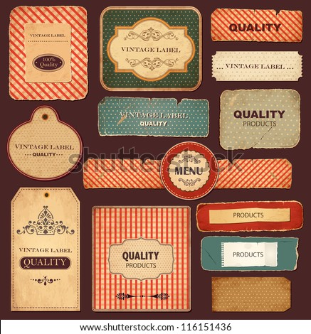 vector collection  vintage and