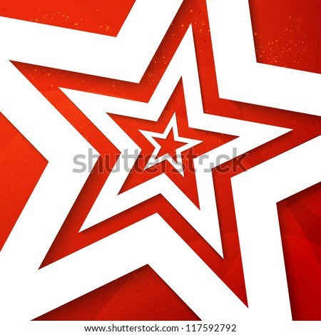 star applique background