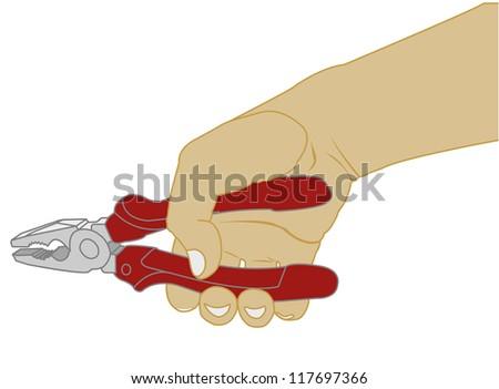 pliers vector