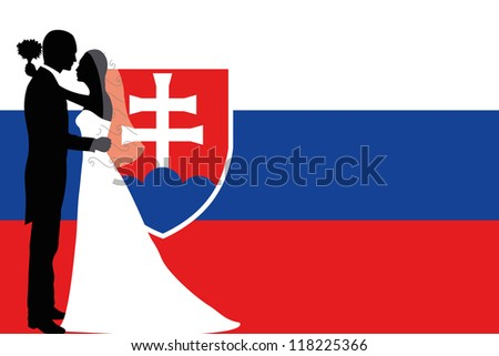 vector illustration of the flag