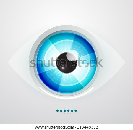 vector color eye design hi